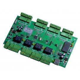 XT-C401. Controladora de 4 Accesos y 4 Lectores Esclavos