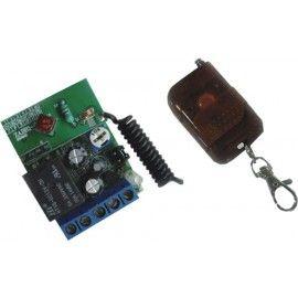 IZ-MDOOR. Kit Receptor inalámbrico + Mando 1 canal.