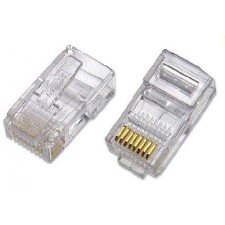 IZ-RJ45. Pack de 50 conectores RJ-45 CAT5