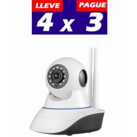 PROMO 4X3 IZ-IP21220. Camara IP WIFI Motorizada