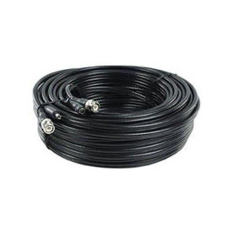 Cable Combinado Video+ Alimentacion Crimpado 20 MT