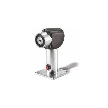Retenedor electromagnético de suelo o pared